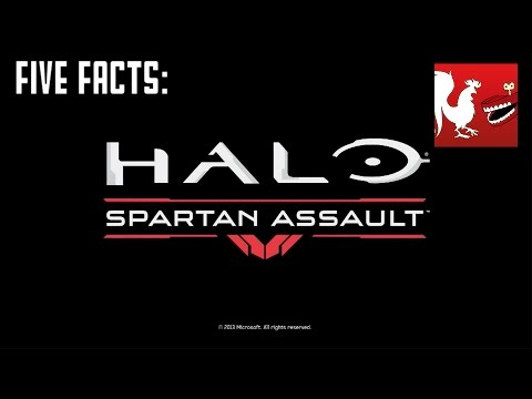 Facts - Jack and Geoff bring you five facts over Halo: Spartan Assault. RT Store: http://roosterteeth.com/store/ Rooster Teeth: http://roosterteeth.com/ Achievement Hunter: http://achievementhunter.com...