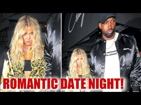 Khloe Kardashian And Tristan Thompson Enjoy A Romantic Dinner At Craig's