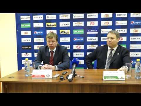 Автомобилист - Салават Юлаев: Пресс-конференция