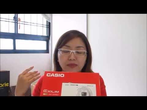Unboxing haul : Casio EX-ZR50 Selfie Cam!!!