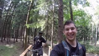 Video Erste Session im neuen Black Mountain BikePark 2016 MP3, 3GP, MP4, WEBM, AVI, FLV September 2017