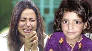 Video EMOTIONAL Hina Khan CRYING On Asifa Kathua Case MP3, 3GP, MP4, WEBM, AVI, FLV April 2018