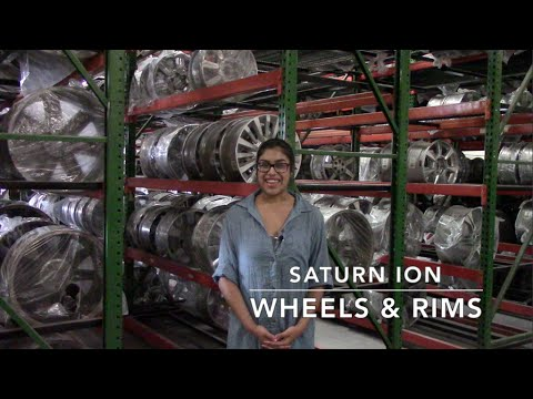 Factory Original Saturn Ion Wheels & Saturn Ion Rims – OriginalWheels.com