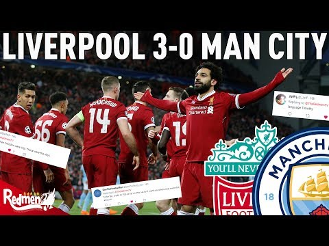Liverpool V Man City 3-0 | Liverpool Fan Twitter Reactions