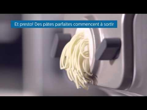 Comment préparer des pâtes fraîches Avec la machine à pâtes Philips