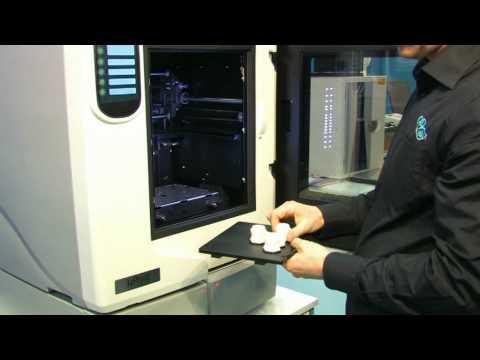 Imprimantes 3D STRATASYS DIMENSION (petits modèles uPrint / HP Designjet 3D en Europe de l'Ouest + modèle grand format DIMENSION + machine de production numérique directe FORTUS)