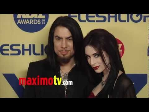 Dave Navarro & Aiden Ashley 2013 XBIZ Awards Red Carpet Arrivals