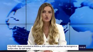 RTK3 Lajme e orës 13:00 25.06.2019