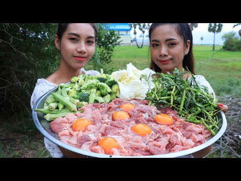 Yummy cooking BBQ beef with vegetable recipe - Natural Life TV
