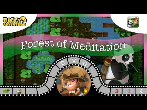 [~China Main Map~] #4 Forest Of Meditation - Diggy's Adventure
