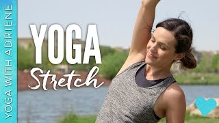 Video Yoga Stretch - Yoga With Adriene MP3, 3GP, MP4, WEBM, AVI, FLV Maret 2018