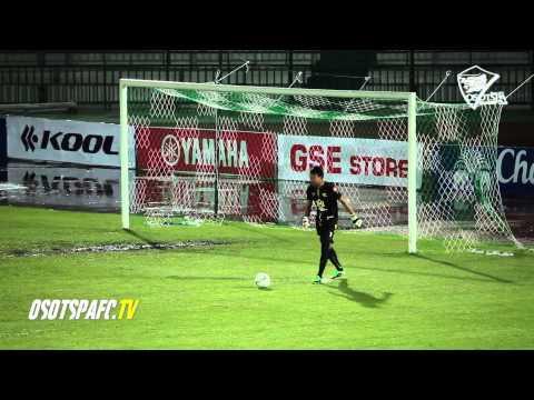 TPL 2014-31 Match highlight Samutsongkhram 0-2 Osotspa