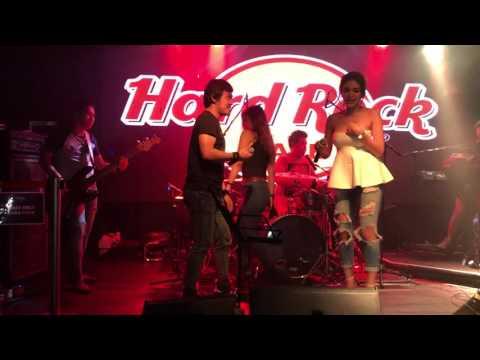 Video Nikita Mirzani Feat ID Talent Band at Hard Rock Cafe Hong Kong download in MP3, 3GP, MP4, WEBM, AVI, FLV February 2017