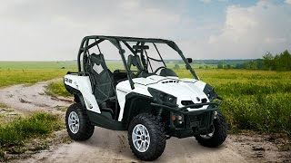 1. 2015 Can-Am Commander E LSV (Low Speed Vehicle) For Comfort, Safety, And Convenience