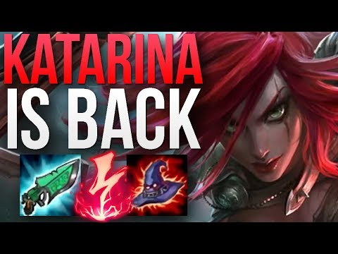 KATARINA PATCH 8.18 IS AMAZING! | CHALLENGER KATARINA MID GAMEPLAY | Patch 8.18 S8