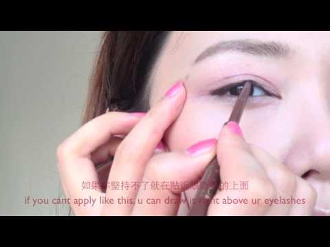 倪晨曦makeup tutorial- lena fujii藤井莉娜 inspired natural makeup