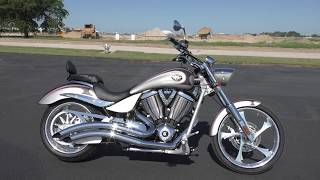 8. 001717 - 2008 Victory Vegas Jackpot - Used motorcycles for sale