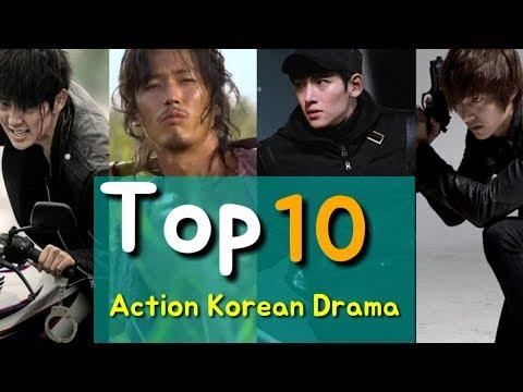 Top 10 Action korean drama