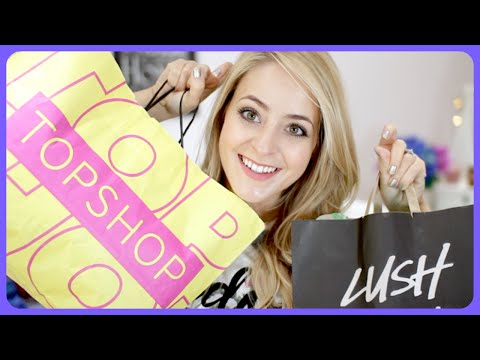haul - A big haul of Topshop goodies and festive Lush bits! EXPAND this box for more info & links! TOPSHOP Black Jumper: Not online but I've seen it in a few stores! Grey Jumper: http://bit.ly/1zAeef8...