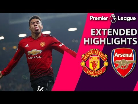 Man United V. Arsenal I PREMIER LEAGUE EXTENDED HIGHLIGHTS I 12/5/18 I NBC Sports