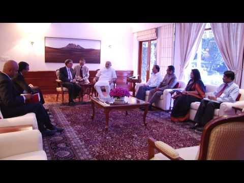 calls - Mr. Bill Gates and Mrs. Melinda Gates calling on the Prime Minister, Shri Narendra Modi, in New Delhi on September 19, 2014.