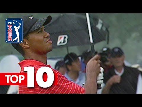 Tiger Woods' top-10 all-time s …