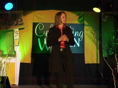 Speaker Bureau - Watch clips of Andrea presenting the keynote Nutrition at the Speed of Life!
