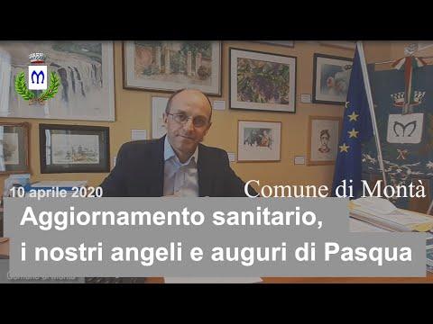 A Montà, la situazione dei contagi in paese e gli auguri del Sindaco Andrea Cauda (Video)