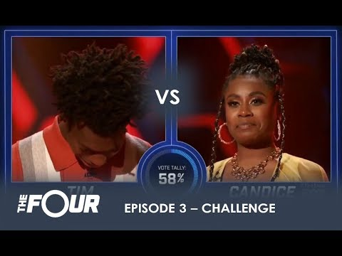 Tim Vs Candice: This CRAZY Battle Will Give You GOOSEBUMPS! | S1E3 | The Four