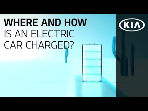 KIA EV - Where And How Is An Electric Car Charged?