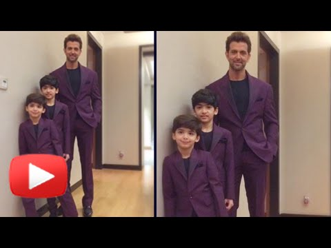 Hrithik Roshan's Family Photo Shoot
