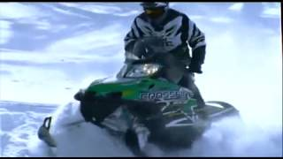 8. 2010 Arctic Cat Snowmobile Line Up