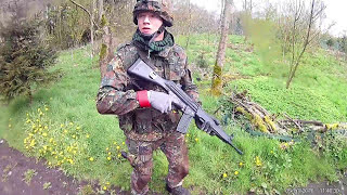 Schneverdingen Germany  City pictures : Airsoft Schneverdingen Germany 01.05.2016 (Garten Eden) Schwaben Arms SAR M41/43 S-AEG