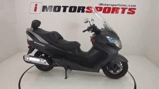 3. 2013 SUZUKI BURGMAN 400 ABS @ iMotorsports A2335