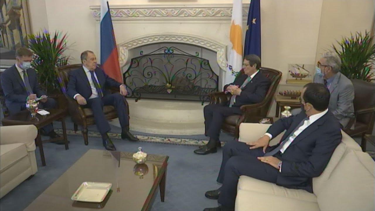Κύπρος: Στη Λευκωσία ο υπουργός Εξωτερικών της Ρωσίας Σεργκέι Λαβρόφ