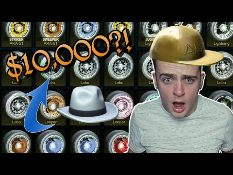 How Much Is EVERY Item In Rocket League Worth? [2017] NO DUPLICATES! | $10,000/10,000 KEYS INVENTORY (видео)