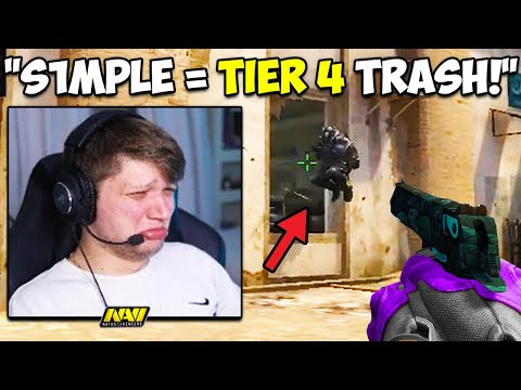 S1MPLE SHOWS WHY YOU NEVER TRASH TALK HIM! (RIP SMOOYA!) CS:GO Twitch Clips