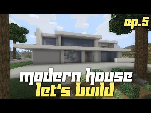 modern house in minecraft xbox 360 edition