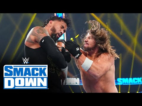 Jey Uso vs. AJ Styles: SmackDown, Oct. 2, 2020