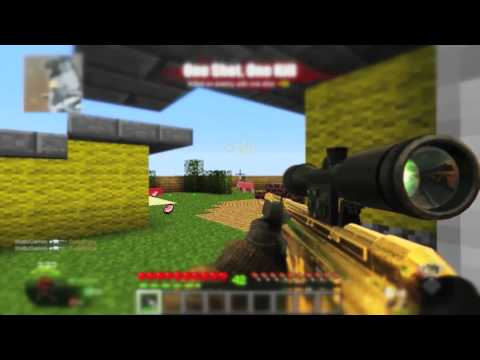 Minecraft Call of Duty (Black Ops Minecraft Nuketown Map)