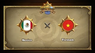 VNM vs MEX, game 1