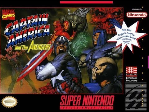 captain america and the avengers super nintendo game genie