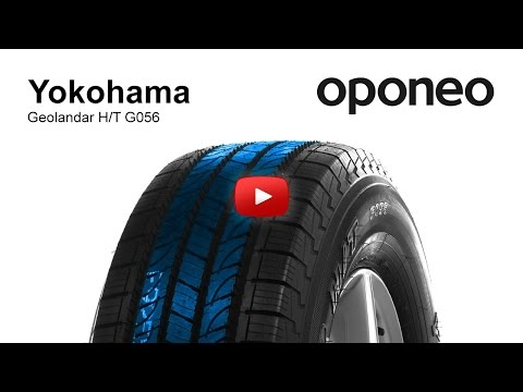 Tyre Yokohama GEOLANDAR H/T G056 ● Summer Tyres ● Oponeo™
