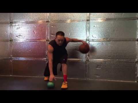 Dribbling drill for timing, rhythm, depth,
