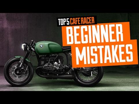 Cele mai des întîlnite greșeli ale unui începător în Cafe Racer