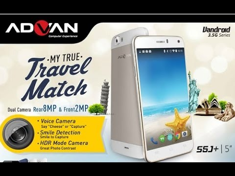 Unboxing HP Vandroid Advan S5J+ Review Indonesia