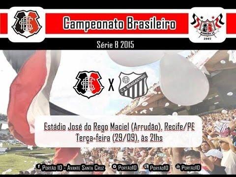 P10 - Santa Cruz 3 x 1 Bragantino 29/09/2015 - Portão 10 - Santa Cruz