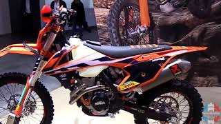 10. 2017 KTM 350 EXC F Walkaround Review | Engine Specifications Details and Color Stock