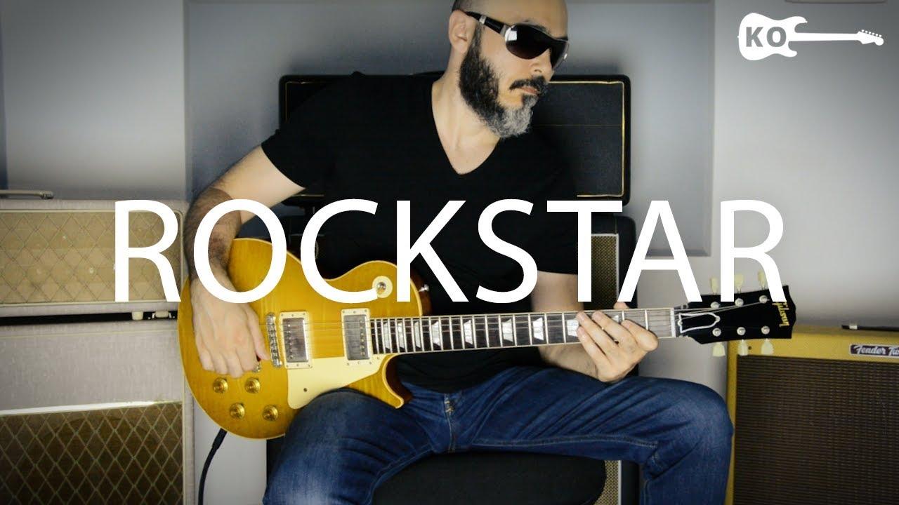 Post Malone – Rockstar – Electric Guitar Cover by Kfir Ochaion