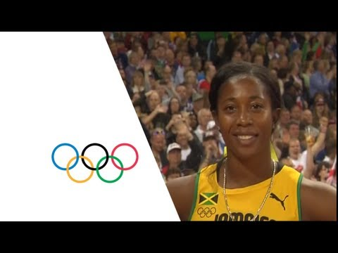 athletics women's 100m final – london 2012 olympic games